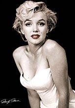 Pyramid America Marilyn Monroe Red Lips Cool Wall