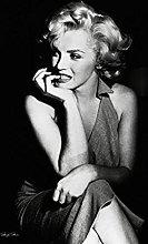Pyramid America Marilyn Monroe Sitting Portrait