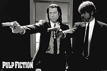Pyramid America Pulp Fiction Duo Guns John