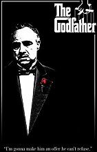 Pyramid America The Godfather Red Rose Movie Quote