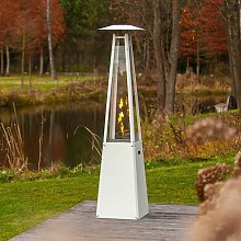Pyramid Outdoor Gas Fireplace