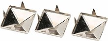 Pyramid Studs, 100Pcs Pyramid Shaped Nail Head