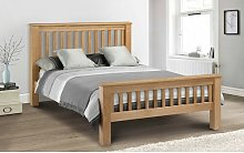 Pyramidale Bed Frame with Mattress August Grove