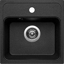 Pyramis 070013601Pyra Granite Bowl Inset Kitchen