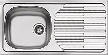 Pyramis ET33Fork Stainless Steel Inset Sink with