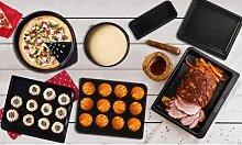 Pyrex Bakeware Bundle: 26cm and 30cm Roaster Set