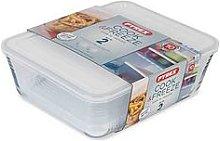 Pyrex Cook And Freeze Storage Set