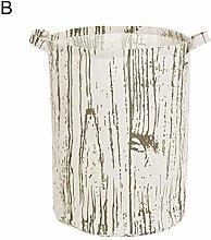 PYROJEWEL Wooden Vertical Storage Bag Striped