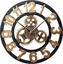 pzcvo Kitchen Clock Wall Clocks Copper Clock