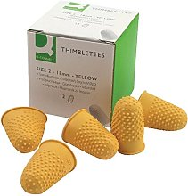 Q-Connect Thimblette No.2 Yellow