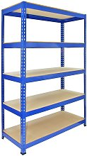 Q-Rax Boltless Garage Storage Shelves, 120cm W,