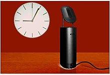 Q-Time Projection Clock Black