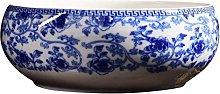 Qagazine Ceramic Flower Pot Succulent Plant Pots