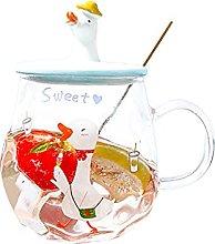 Qagazine Mug Cute Animal Cartoon Coffee Cup