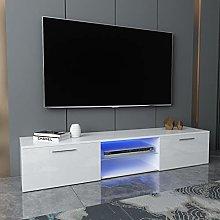 QAQZ 160CM LED TV Unit Stand TV Cabinet- High