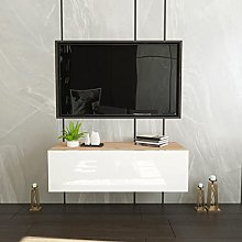 QAQZ Wall Mounted Storage Cabinet: Cube Floating