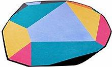 QARYYQ Shaped Carpets, Upholstery PC/Polyester