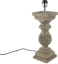 Qazqa - Country table lamp without shade vintage
