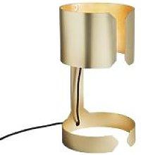 Qazqa - Design table lamp matt gold - Waltz