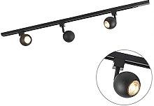 QAZQA Modern Rail Track Spotbar/Spotlight Ceiling