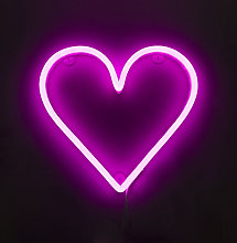 Qazqa - Wall lamp Pink Neon with Remote Control
