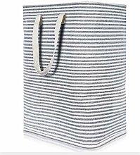 QAZW Folding Washing Bin Fabric Storage Basket