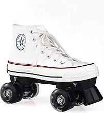 QAZW Roller Skates, Double Row Roller Skates, for