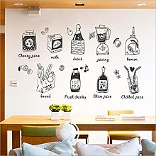 Qazwsxedc Refrigerator Stickers Waterproof Solid