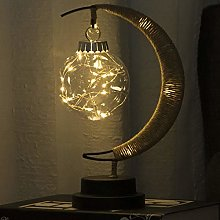 QBCNM LED Christmas Decorative Moon Lights,