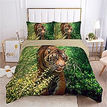 QDoodePoyer Duvet Cover Set Double Bed 3PCS Green