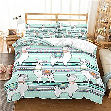QDoodePoyer Duvet Cover Set Double Bed 3PCS Simple