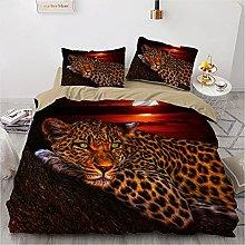 QDoodePoyer Duvet Cover Set Double Bed 3PCS Sunset