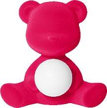 Qeeboo - Velvet Teddy Girl Lamp - orange -