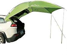 QERMULA Car Trunk Tent Sunshade with Bracket