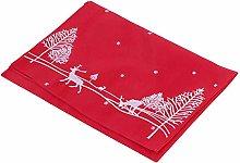 QFDM Table Runners Napkin Polyester 38x178cm Elk