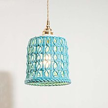 QFF Ceramic Chandeliers, Hollow-carved Design