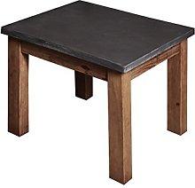 QFF Solid Wood Tea Table, Creative Living Room