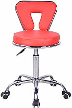 QFLY Bar Chair Front Desk Dining Bar Stool Faux