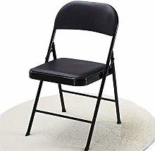 QFLY Comfortable Soft Black Bar Stool Chair