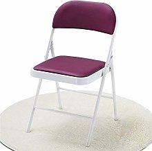 QFLY Comfortable Soft Chair Folding Office Chair