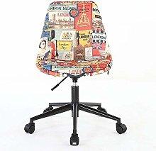 QFLY Computer Chair Nordic Lift Chair Small Modern