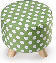 QFLY European Fabric Sofa Stool Removable And