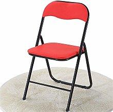 QFLY Folding Office Chair Folding Office Chair Red
