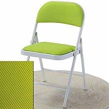 QFLY Folding Office Chair Lemon Color Bar Stool