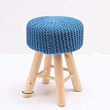 QFLY Modern Solid Wood Small Stool Fashion Sofa