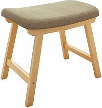 QFLY Nordic Home Stool Small Chair Living Room