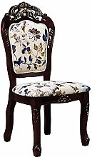 QFWM Dining Chairs Independent Retro Style Hotel