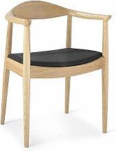 QFWM Dining Chairs Modern Minimalist Wood Stool