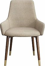 QFWM Dining Chairs Modern Negotiation Seat 2