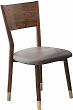 QFWM Dining Chairs Nordic Ash Soft Bag Large Back